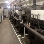 Индукционные нагреватели Терманик внутри электрокотельной